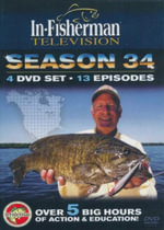 In Fisherman Television : Season 34 - 13 Episodes : Over 5 Big Hours Of Action & Education