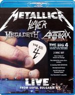 Metallica / Slayer / Megadeth / Anthrax - The Big 4 : Live From Sofia, Bulgaria