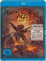 Various Artists : Monsters of Metal - Volume 9 (Blu-ray/DVD)