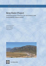 Berg Water Project - LawrenceJ.M. Haas