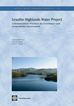 Lesotho Highlands Water Project - Lawrence J.M. Haas