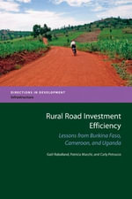 Rural Road Investment Efficiency - Gael Raballand