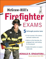 McGraw-Hill's Firefighter Exams - Ronald Spadafora