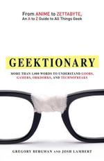 Geektionary - Gregory Bergman