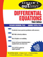 Schaum's Outline of Differential Equations, 3rd edition - Richard Bronson