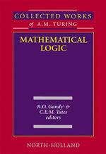 Mathematical Logic - R.O. Gandy