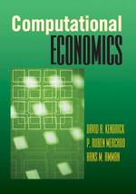 Computational Economics - David A. Kendrick