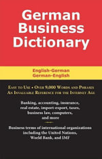 German Business Dictionary - Morry Sofer