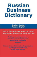 Russian Business Dictionary - Morry Sofer