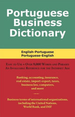 Portuguese Business Dictionary - Morry Sofer