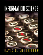 Information Science - David G. Luenberger