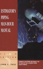 Estimator's Piping Man-Hour Manual - John S. Page