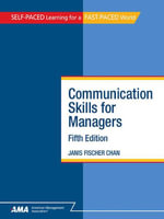 Communication Skills for Managers : EBook Edition - Janis Fischer CHAN