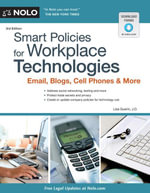 Smart Policies for Workplace Technology : Email, Blogs, Cell Phones & More - Lisa Guerin