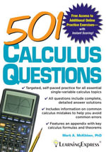 501 Calculus Questions - Mark McKibben