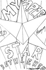 My Paper Star of Bethlehem - Thomas Camp