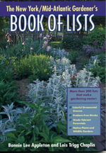 New York/Mid-Atlantic Gardener's Book of Lists - Bonnie Lee Appleton