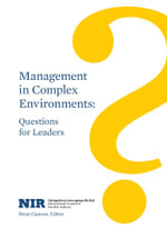 Management in Complex Environments : Questions for Leaders - Brian Ganson
