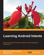 Learning Android Intents - Aftab   Muhammad Usama bin
