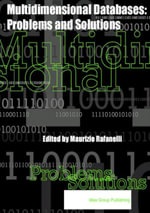 Multidimensional Databases : Problems and Solutions