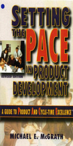 Setting the PACE in Product Development - Michael E. McGrath