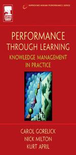 Performance Through Learning - Kurt April