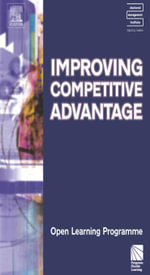 Improving Competitive Advantage CMIOLP - Kate Williams