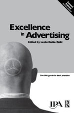 Excellence in Advertising - Leslie Butterfield