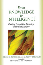 From Knowledge to Intelligence - Helen Rothberg