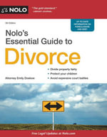 Nolo's Essential Guide to Divorce - Emily Doskow