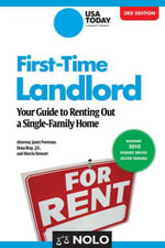 First-Time Landlord : Your Guide to Renting out a Single-Family Home - Janet Portman