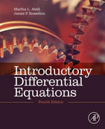 Introductory Differential Equations : with Boundary Value Problems - Martha L. Abell