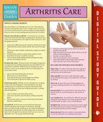 Arthritis Care : Speedy Study Guides - Speedy Publishing