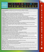 Astronomy Terminology : Speedy Study Guides - Speedy Publishing