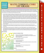 Math Common Core 1st Grade : Speedy Study Guides - Speedy Publishing