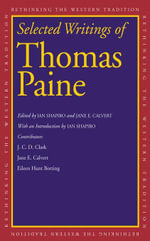 Selected Writings of Thomas Paine - Thomas Paine