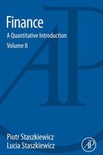 Finance : A Quantitative Introduction - Piotr Staszkiewicz
