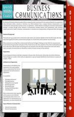 Business Communications : Speedy Study Guides - Speedy Publishing