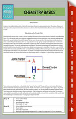 Chemistry Basics (Speedy Study Guide) - Speedy Publishing