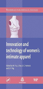 Innovation and Technology of Women's Intimate Apparel - W Yu