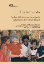 This We Can Do - Sally Herzfeld