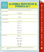 Algebra Principles And Formulas 1 (Speedy Study Guides) - Speedy Publishing