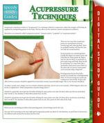 Acupressure Techniques (Speedy Study Guides) - Speedy Publishing