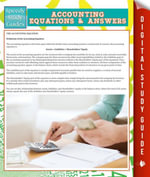 Accounting Equations And Answers (Speedy Study Guides) - Speedy Publishing