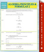 Algebra Principles And Formulas 2 (Speedy Study Guides) - Speedy Publishing