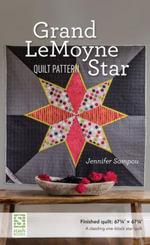 Grand LeMoyne Star Quilt Pattern - Jennifer Sampou