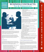 Business Contracts : Tips And Terminology (Speedy Study Guides) - Speedy Publishing