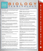 Biology Terminology (Speedy Study Guides) - Speedy Publishing
