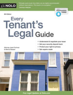 Every Tenant's Legal Guide - Janet Portman