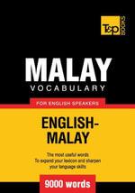 Malay vocabulary for English speakers - 9000 words - Andrey Taranov
